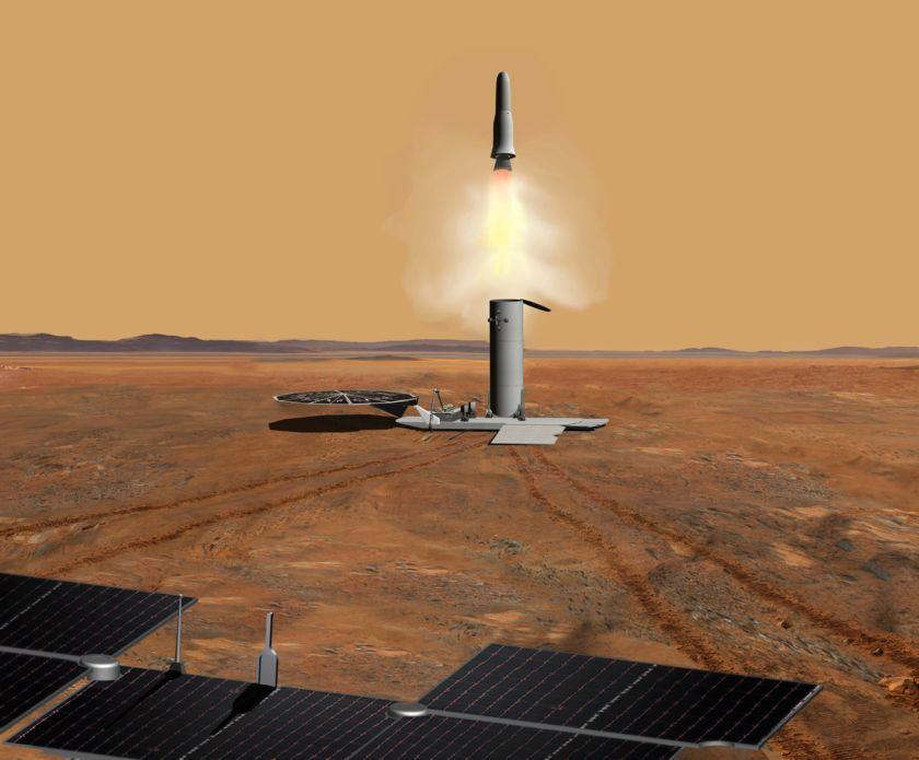 Mars sample return concept