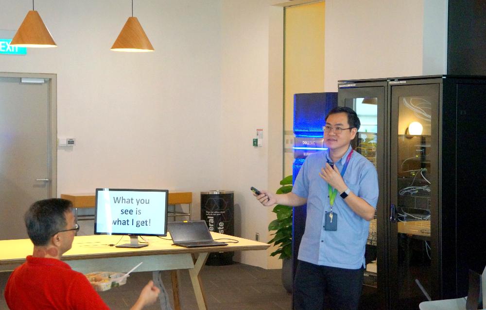 Peng Chong from GovTech