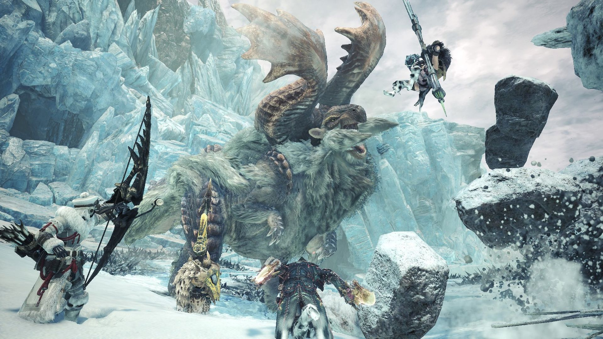 Monster Hunter World Iceborne_01