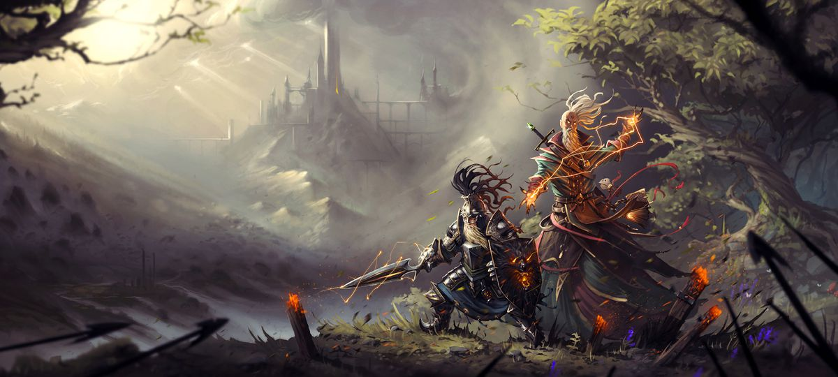 Divinity: Original Sin 2 forest artwork