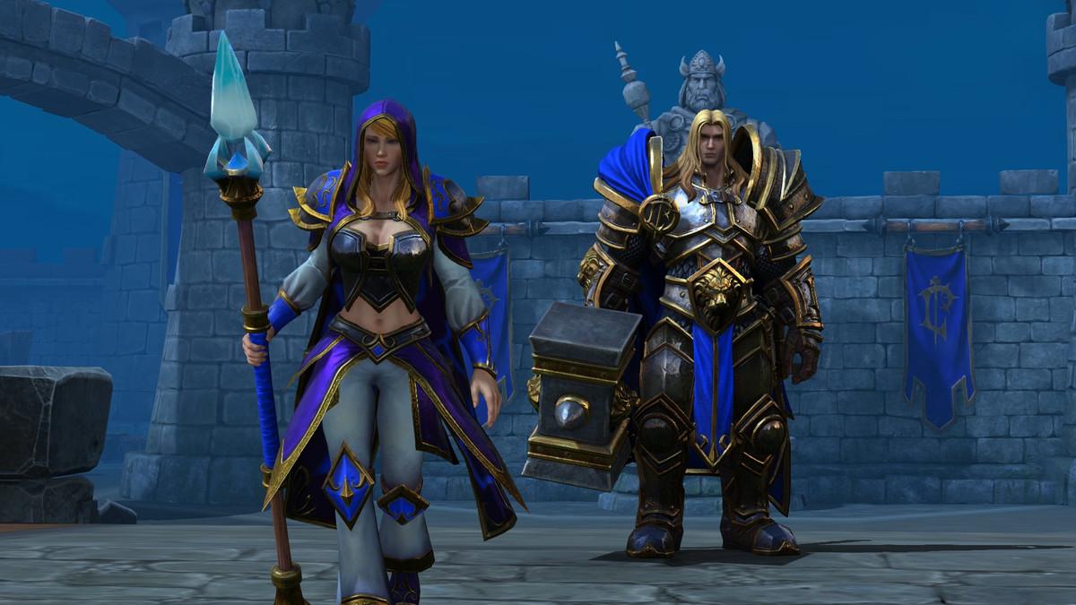 Warcraft 3: Reforged - Jaina Proudmoore abandons Arthas at Stratholme
