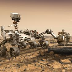 NASA Perseverance rover (artist's concept)