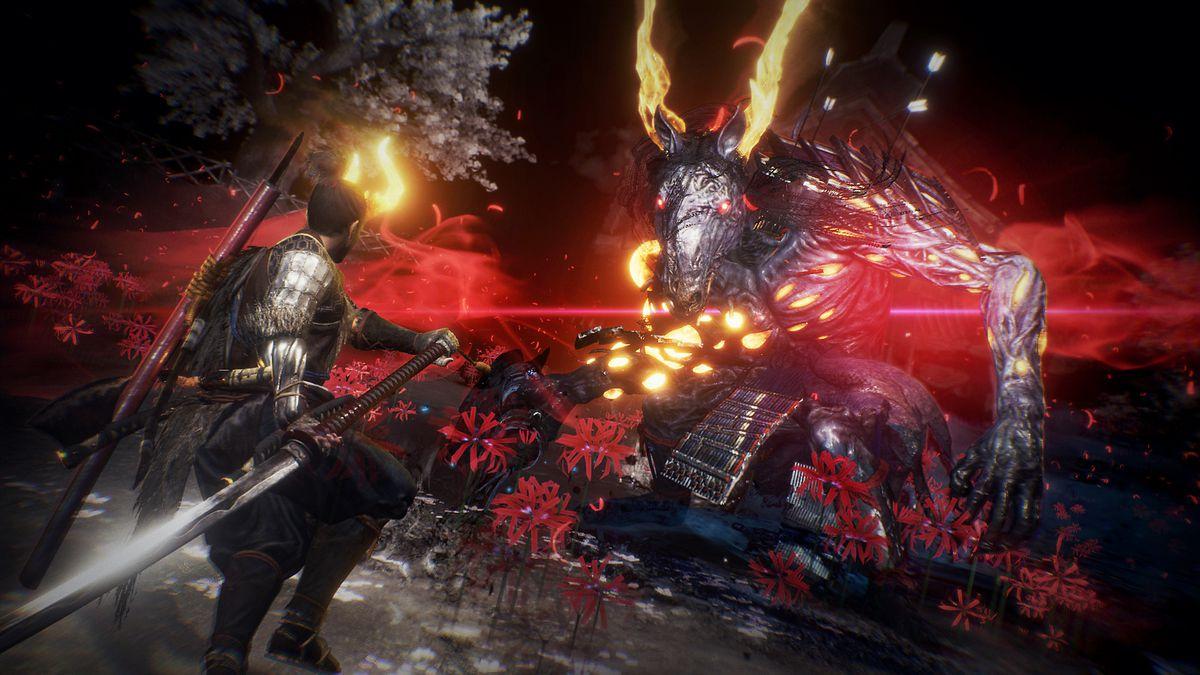 Nioh 2 horse Yokai demon