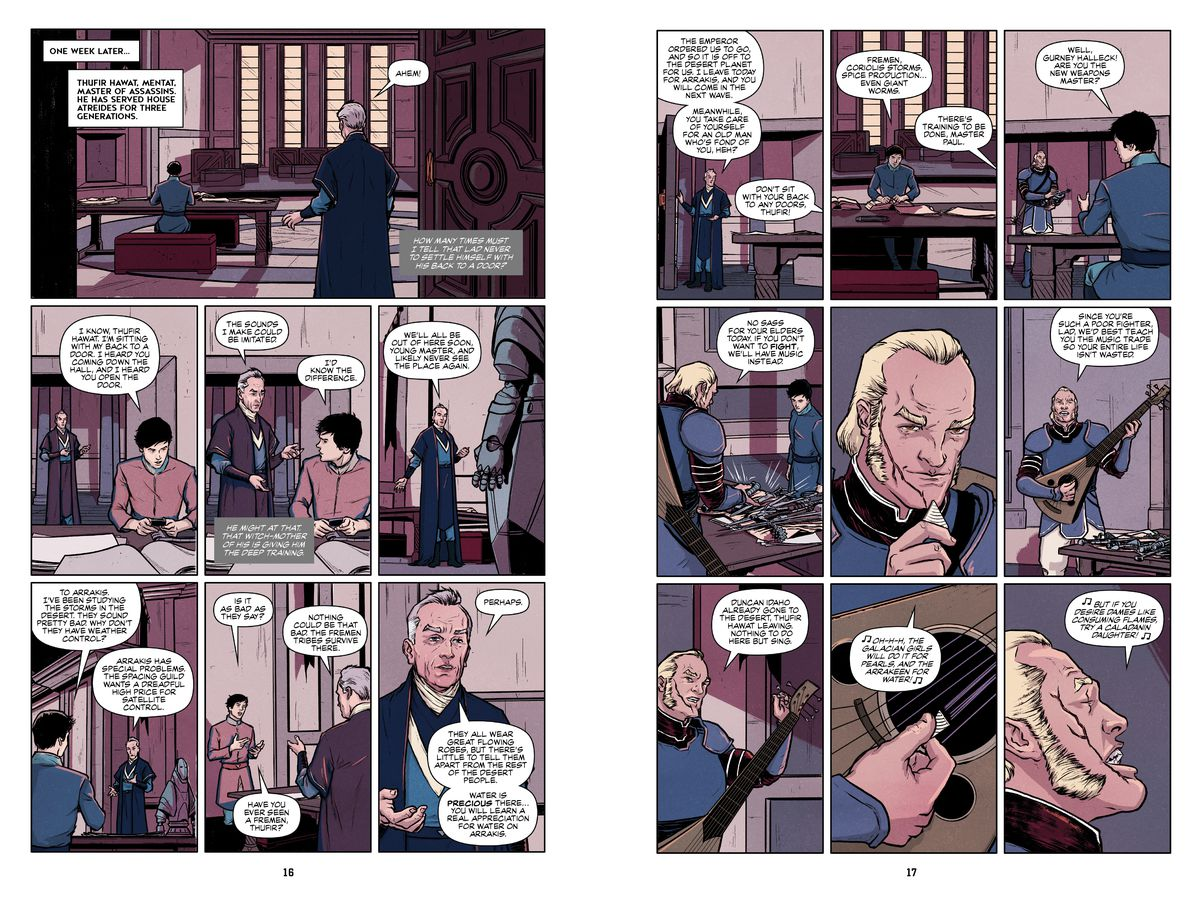 Dune: The Graphic Novel — Book 1
