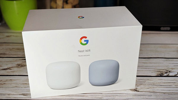 Google Nest Wi-Fi Point and Router