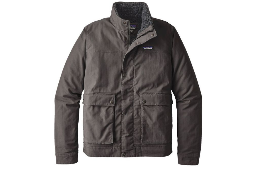 Patagonia lined maple grove canvas jacket.