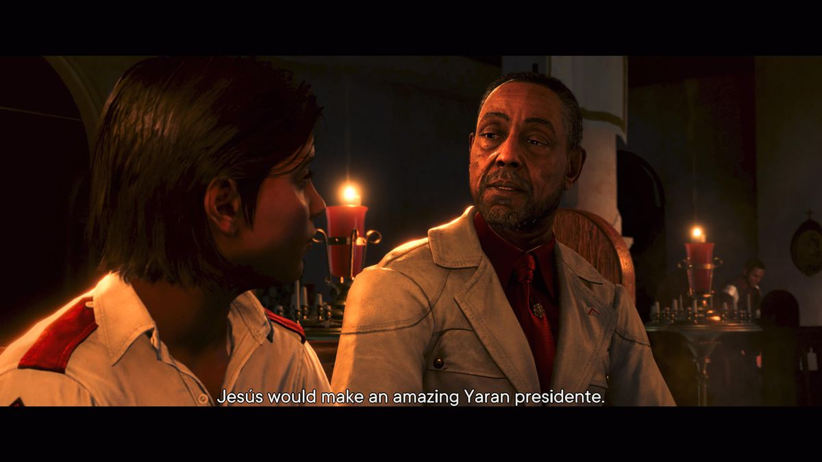 Antón Castillo speaks to his son, Diego